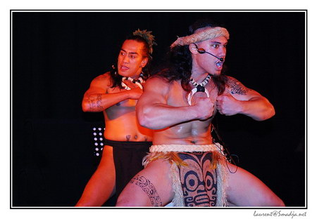 Salon International de Tatouage - Toulouse 2007 - Spectacle Heiva i Tahiti